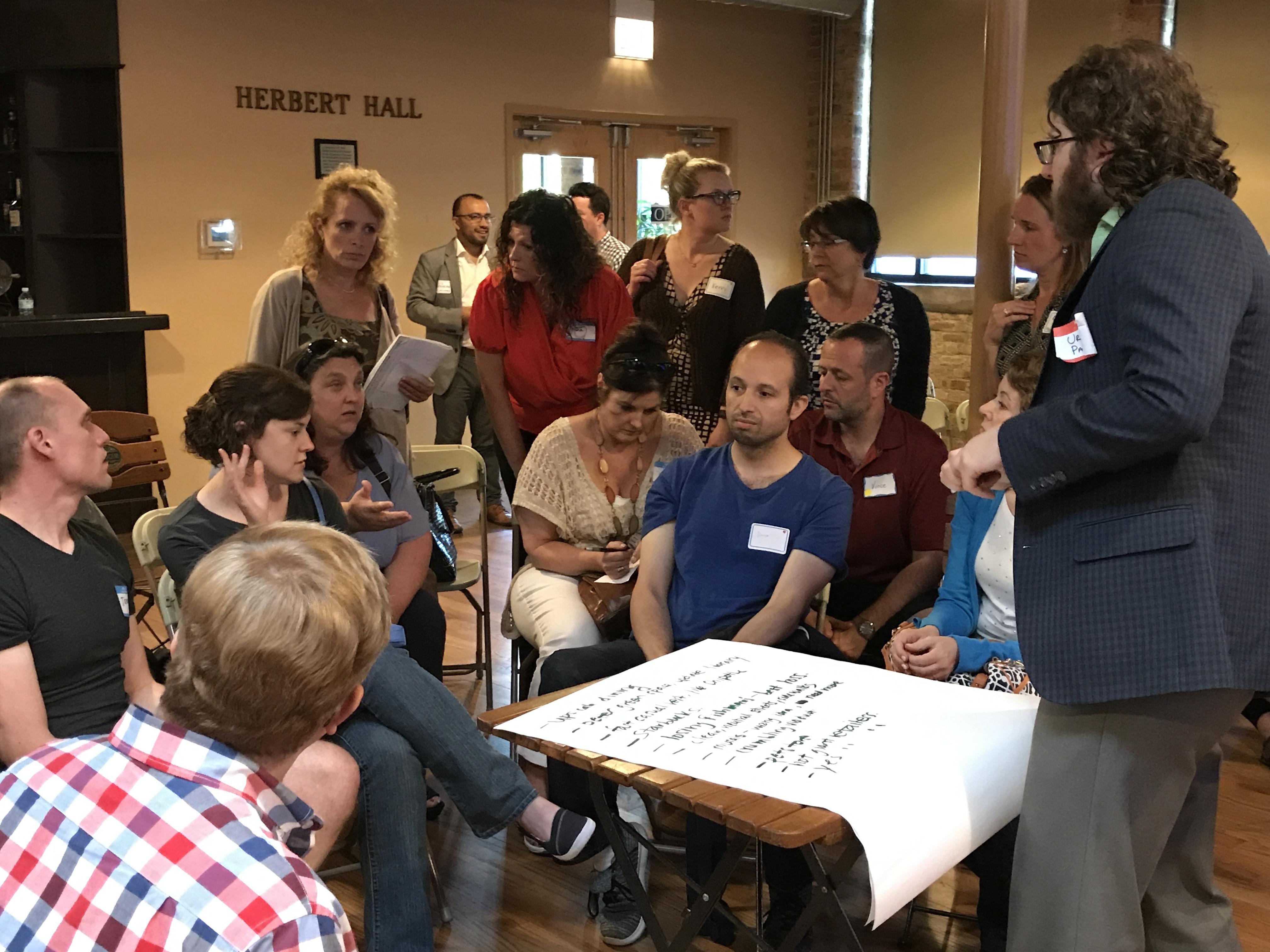 Interactive Discussions Around Three Core Topics